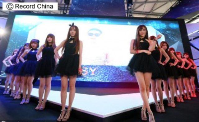画像: 「胸がダメなら美脚で勝負!」のコンパニオンたち、「チャイナジョイ」で露出を全面禁止―中国 - エキサイトニュース