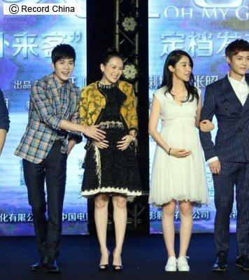 画像: チャン・ツィイーの妊婦姿は「本物」か?恋人ミュージシャンと初の共同作業―中国 - エキサイトニュース