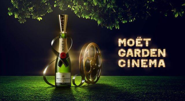 画像: ミッドタウンのガーデンで楽しむシャンパン+映画のイベント開催!通常の映画館と違う、解放感でデート満喫!