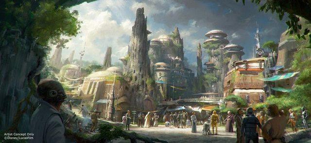画像: スター・ウォーズ、テーマパークになる!