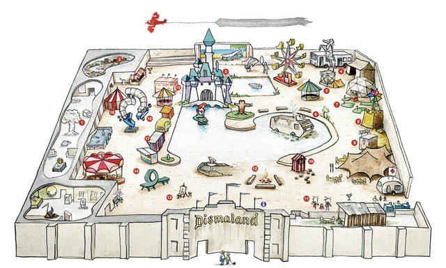 画像: プラン図 http://www.dismaland.co.uk