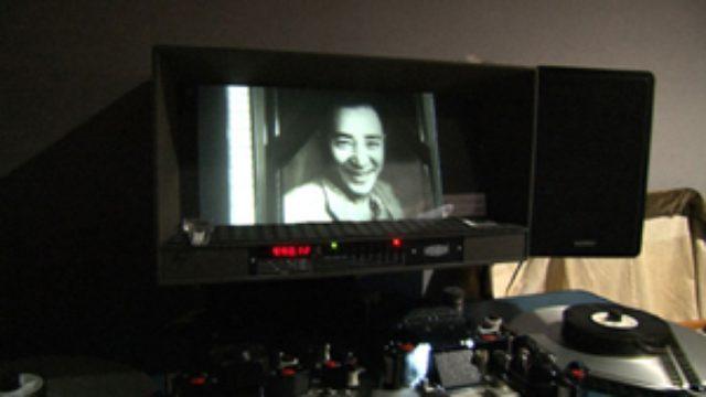 画像: 発掘されたフィルムの中でほほ笑む阪東妻三郎さん