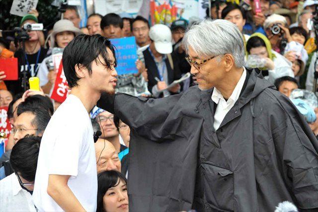 画像: 坂本龍一 SEALDsの初顔合わせとなった