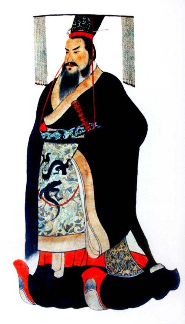 画像: 始皇帝の肖像(参考図版)、秦始皇帝陵博物院蔵 ©Shaanxi Provincial Cultural Relics Bureau & Shaanxi Cultural Heritage Promotion Center