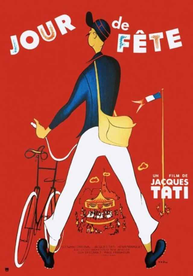 画像3: 多くのジャック・タチ監督の映画ポスターのデザイン・イラストを手掛けた。