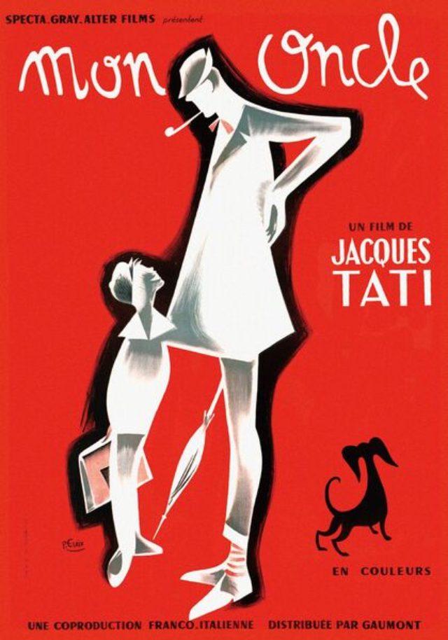 画像1: 多くのジャック・タチ監督の映画ポスターのデザイン・イラストを手掛けた。