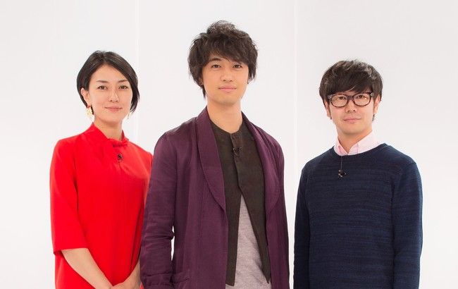 画像: WOWOW「映画工房」に出演者(左から)板谷由夏、斎藤工、中井圭