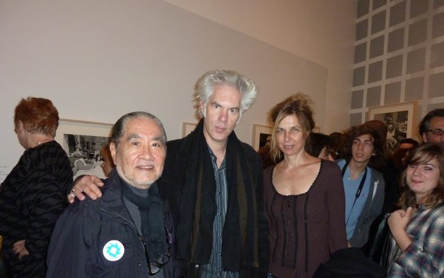 画像: Masayoshi Sukita, Jim Jarmusch and Sarah Driver photo: 2009 tomoyakumagai