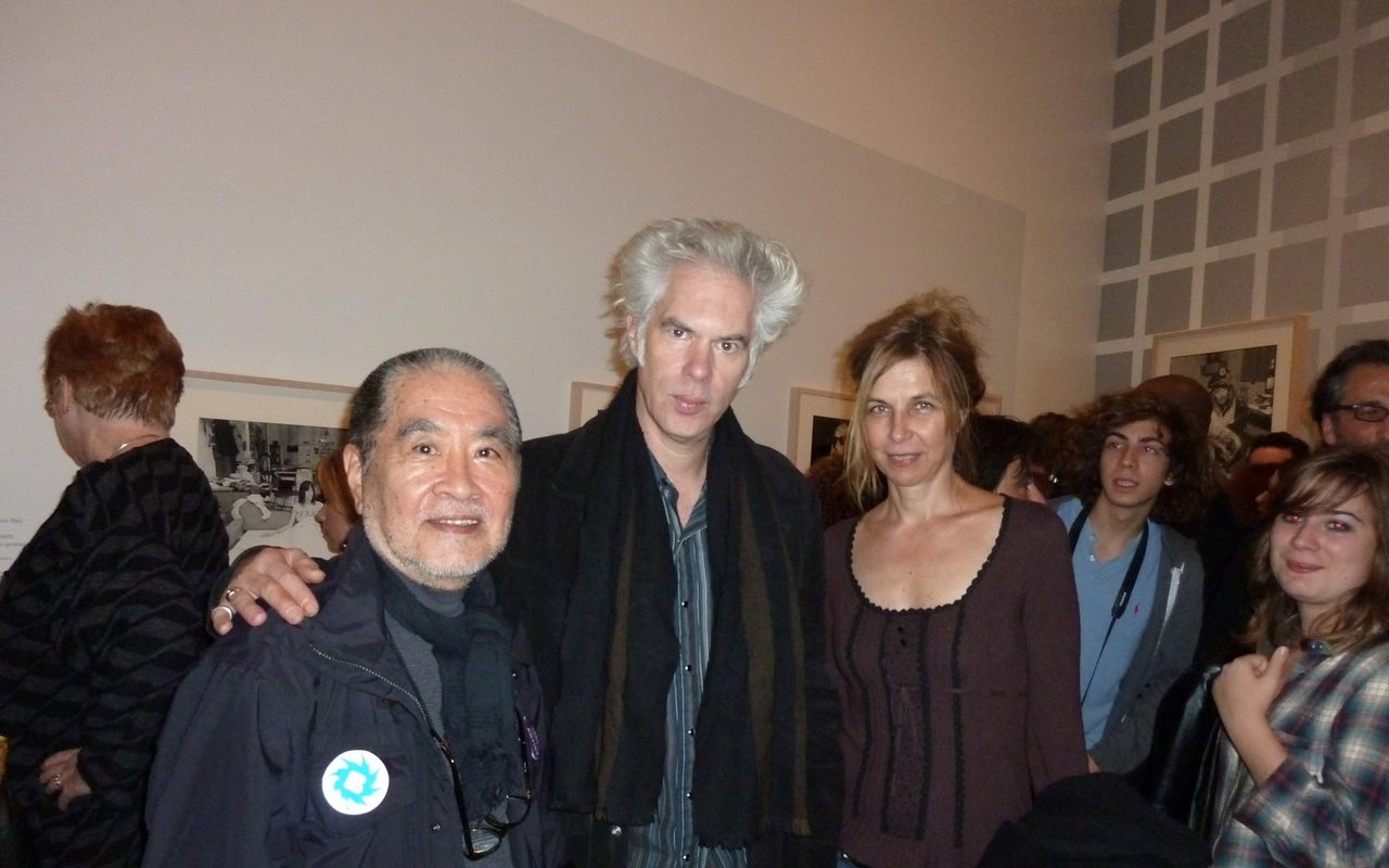 画像: Masayoshi Sukita, Jim Jarmusch and Sarah Driver photo: 2009 tomoyakumagai