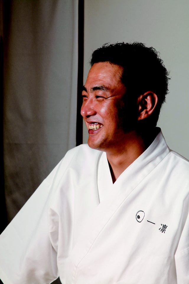 画像: 一凛  橋本幹造 料理という言葉を「材料」と「理論」と捉える料理店、神宮前・日本料理一凛の店主。NHK「あさイチ」出演中。
