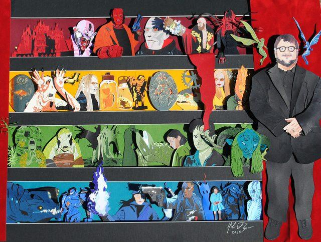 画像1: 愛されキャラ ギレルモ・デル・トロ監督をイメージしたアート展覧会開催中!