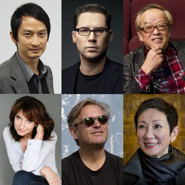 画像: 左上から時計回り)トラン・アン・ユン監督、ブライアン・シンガー監督、大森一樹監督、ナンサン・シー、ベント・ハーメル監督、スサンネ・ビア監督