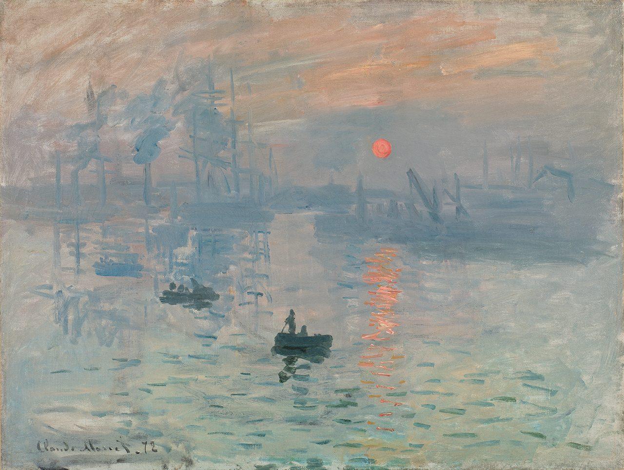 画像: クロード・モネ《印象、日の出》(1872年) 東京展展示期間:10月18日まで Musée Marmottan Monet, Paris © Christian Baraja
