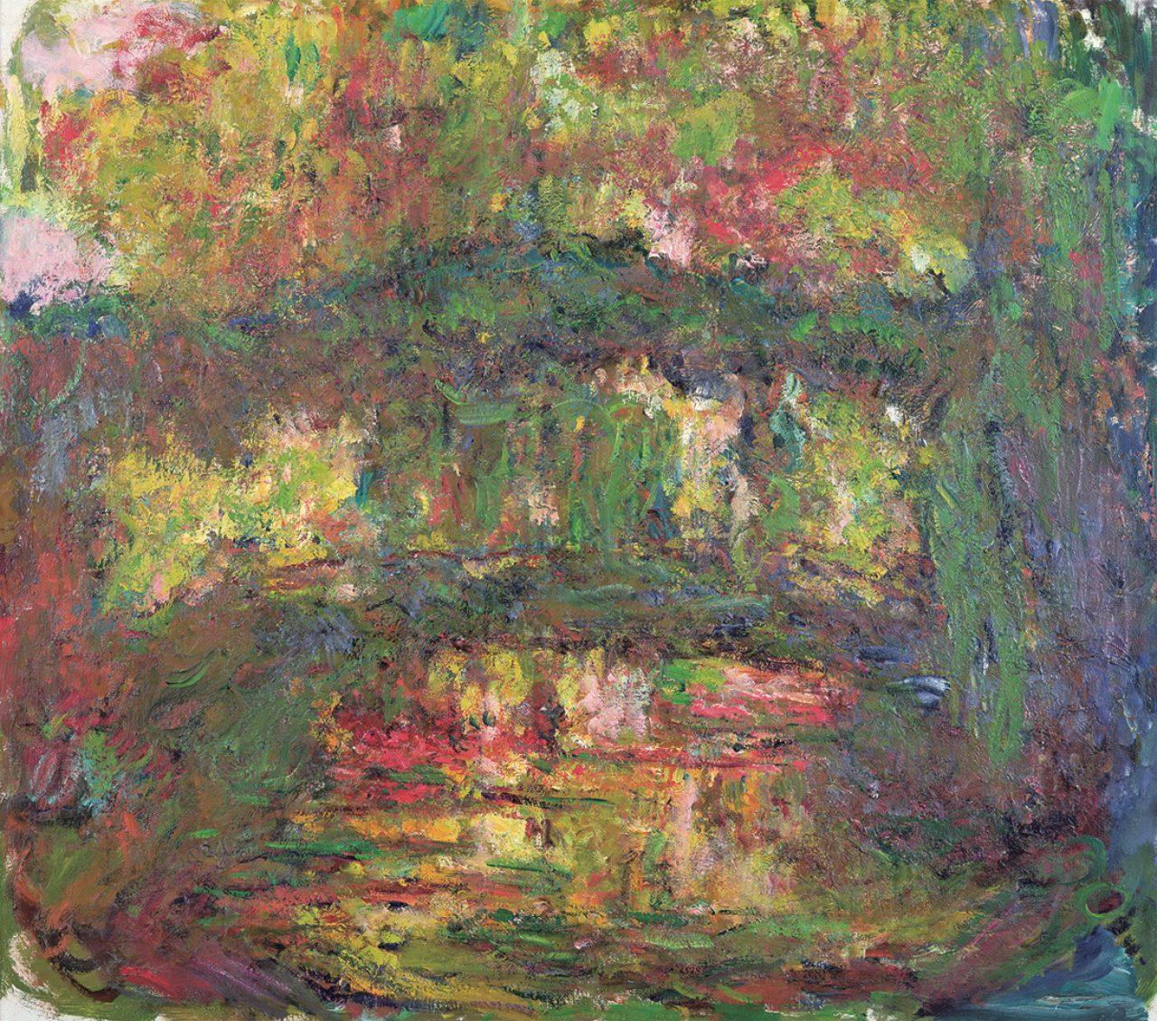 画像: クロード・モネ《日本の橋》(1918-1924年)  Musée Marmottan Monet, Paris © Bridgeman-Giraudon