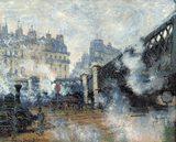 画像: クロード・モネ《ヨーロッパ橋、サン=ラザール駅》(1877年) 東京展展示期間:10月20日~12月13日 Musée Marmottan Monet, Paris © Bridgeman-Giraudon