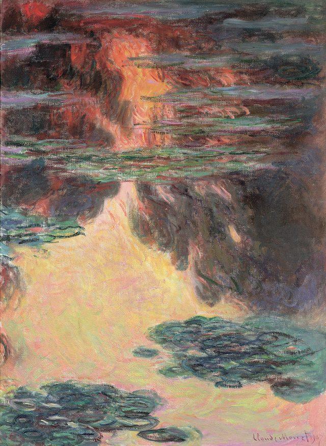画像: クロード・モネ《睡蓮》(1907)  Musée Marmottan Monet, Paris © Bridgeman-Giraudon