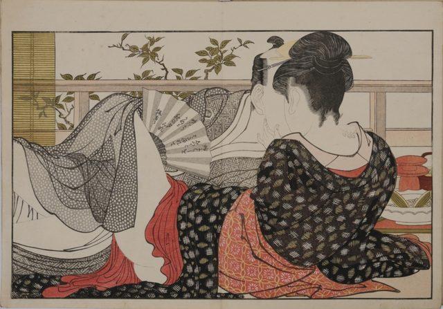 画像: 喜多川歌麿 「歌満くら」 浦上満氏蔵