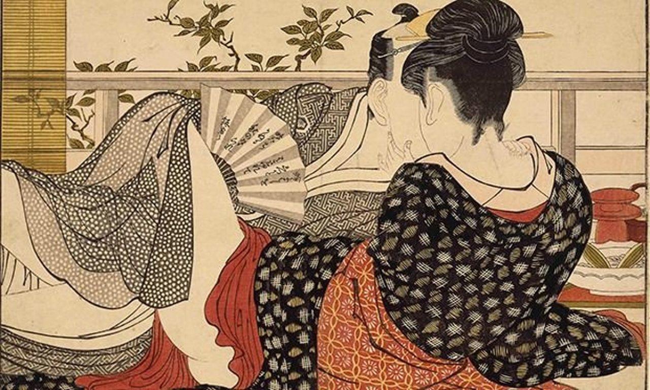 画像: Erotic bliss shared by all at Shunga: Sex and Pleasure in Japanese Art