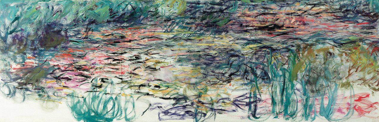 画像: クロード・モネ《睡蓮》(1917-19年)  Musée Marmottan Monet, Paris © Bridgeman-Giraudon