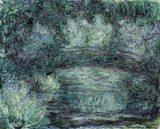 画像: クロード・モネ《日本の橋》(1918-1919年)  Musée Marmottan Monet, Paris © Bridgeman-Giraudon