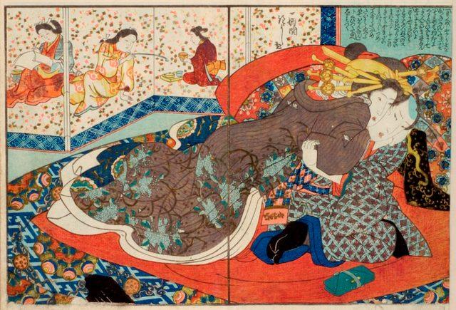 画像: 歌川国芳「華古与見」国際日本文化研究センター蔵