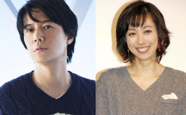 画像: 結婚を発表した(左から)福山雅治、吹石一恵 http://www.oricon.co.jp/news/2059877/full/