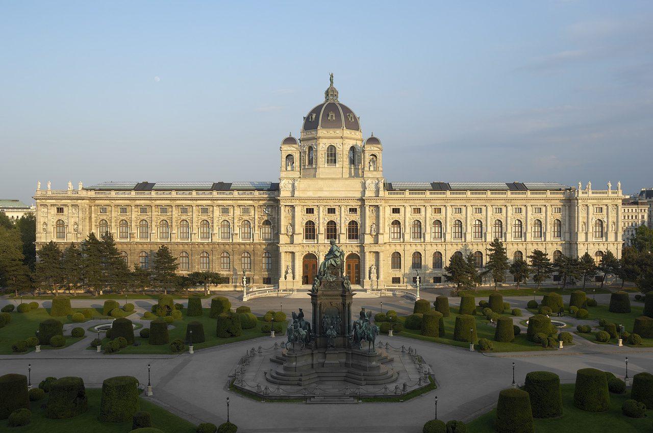 画像: ウィーン美術史美術館 外観