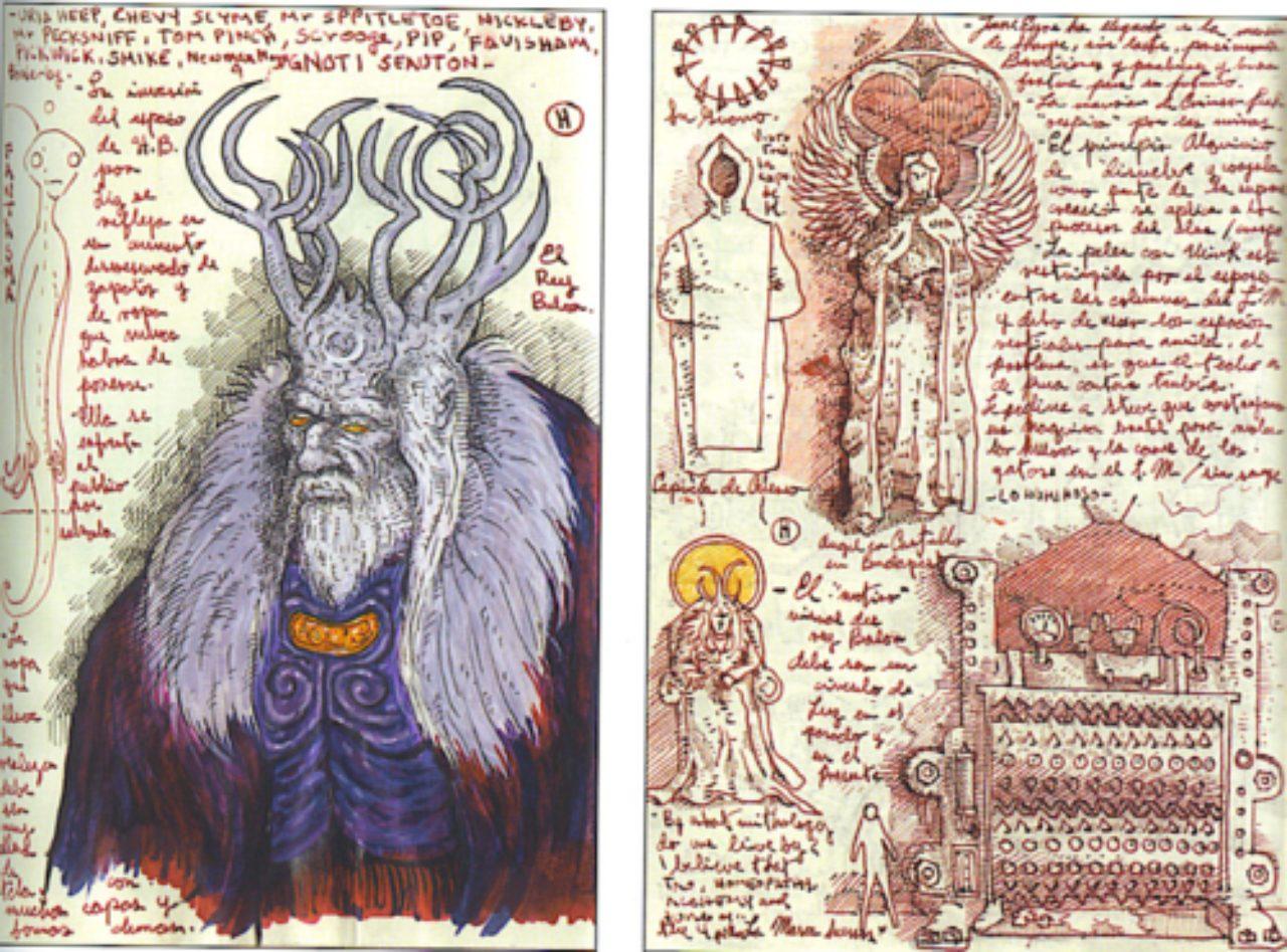 画像3: http://www.film.com/photos/guillermo-del-toros-incredible-sketchbooks
