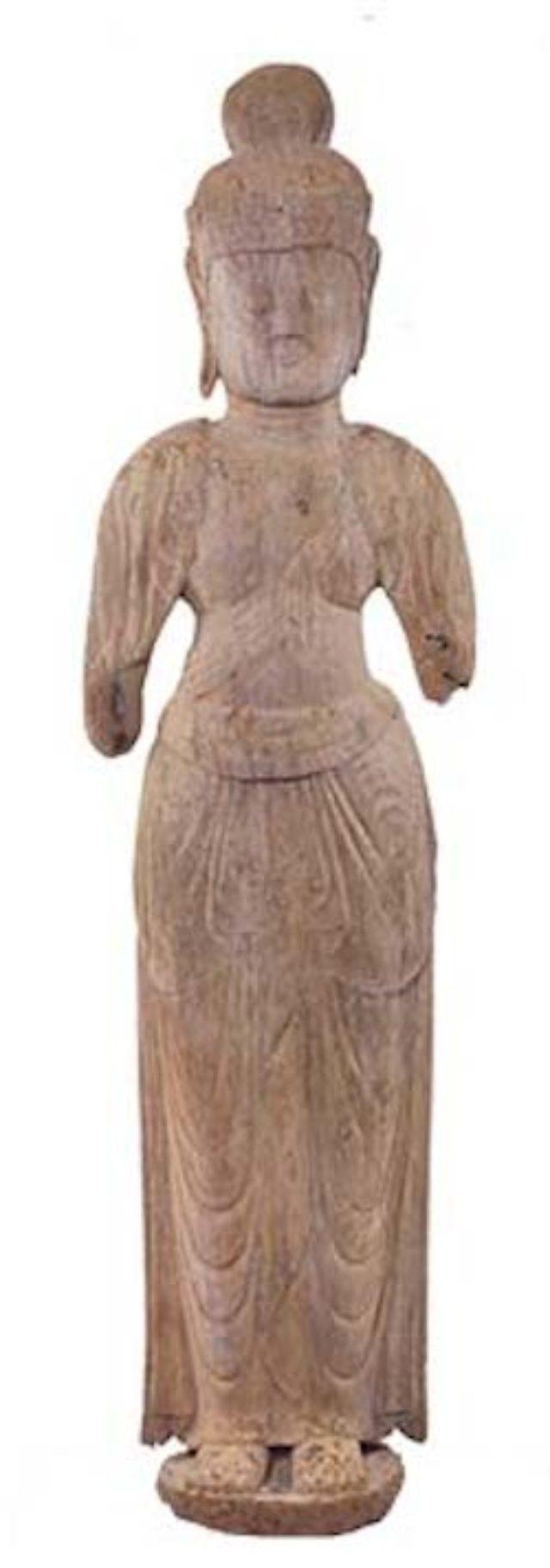 画像: 《天福寺 木造菩薩立像》 奈良~平安時代前期 宇佐市黒区