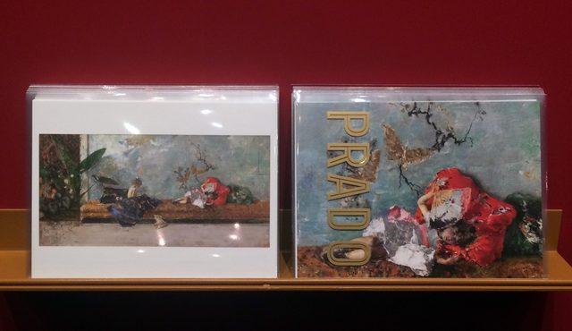 画像: ポストカードはお得な2枚組で、一枚は部分の拡大図になっています。photo©cinefil