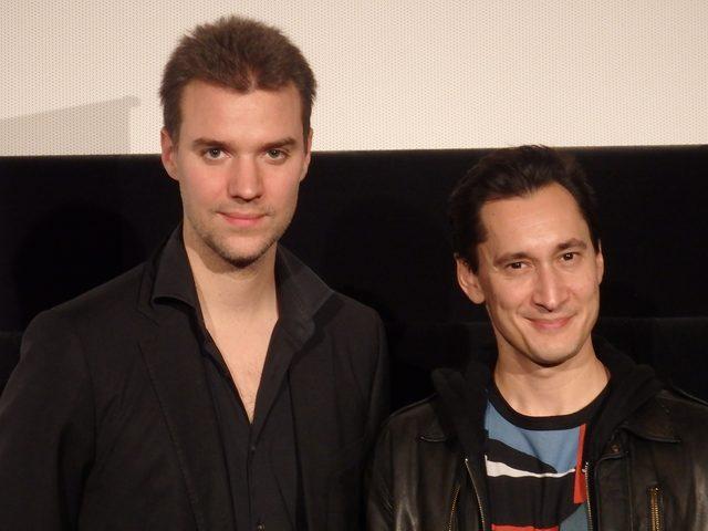 画像: 左は「フル・コンタクト」の監督ダビッド・フェルベーク。 Photo by Yoko KIKKA