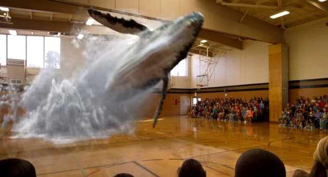 画像: 最新バーチャルリアリティグラス「Magic Leap」で体育館にクジラを出現させてみた!! | コモンポスト