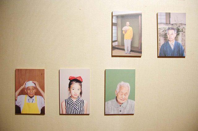 画像: -「Kama Portraits(部分)」アン クレール デ ブレイ - photo(C)mori hidenobu-cinefil art review