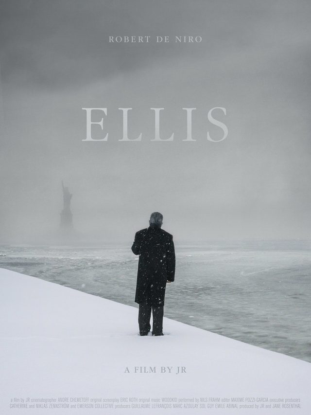 "画像: The ""Ellis"" movie poster."
