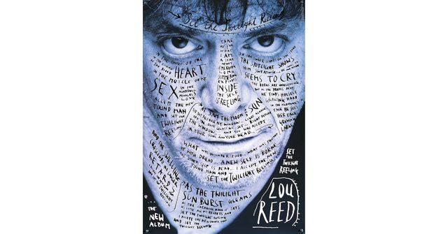 画像: Stefan Sagmeister, Lou Reed – Set the Twilight Reeling, 1996 In collaboration with Timothy Greenfield Sanders © Stefan Sagmeister