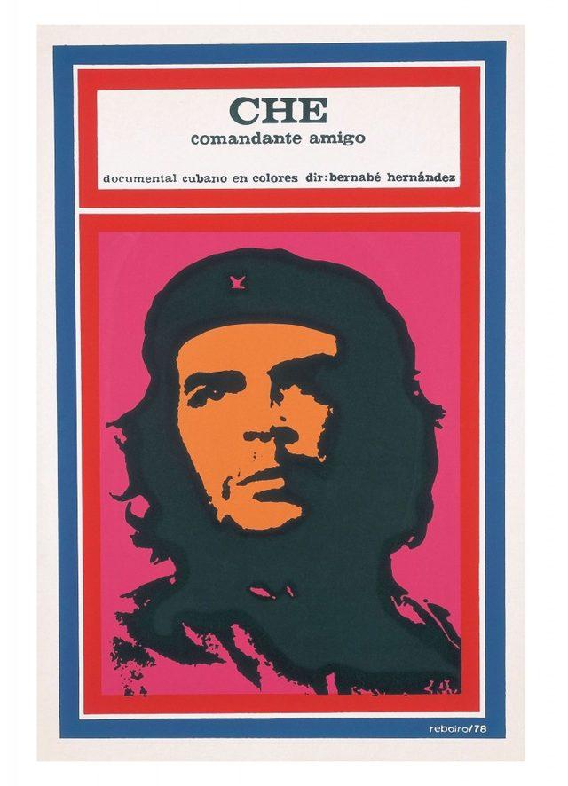 画像: 『チェ、友なる司令官』(1977年/キューバ/ベルナベ・エルナンデス監督) ポスター:アントニオ・フェルナンデス・レボイロ(1978年)