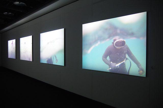 画像1: 「Human Seascape」山内光枝 2015年 - photo(C)mori hidenobu -cinefil art review