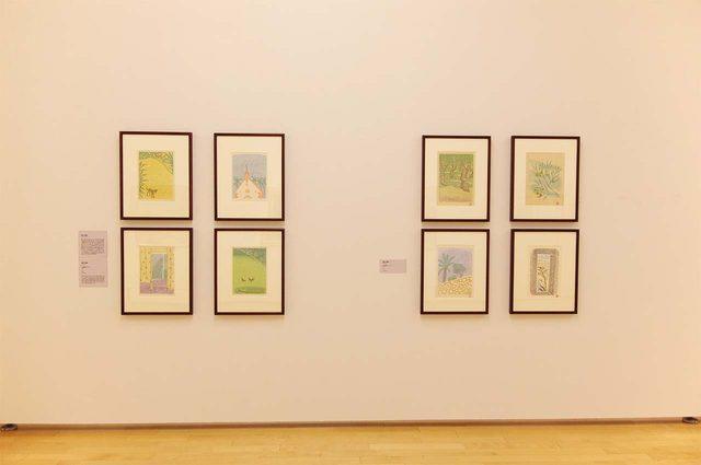 画像: 「木版画集『タヒチ』」香月泰男 木版 1973年 - photo(C)mori hidenobu -cinefil art review
