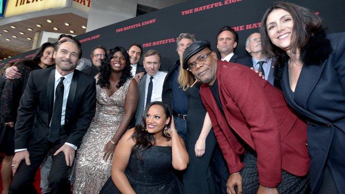 画像: 'Hateful Eight' Premiere: Bob Weinstein Elaborates on 70mm Film Shoot