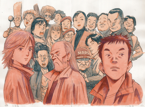 画像: 『20世紀少年』 ©浦沢直樹・スタジオナッツ/小学館 http://www.setabun.or.jp/exhibition/next.html