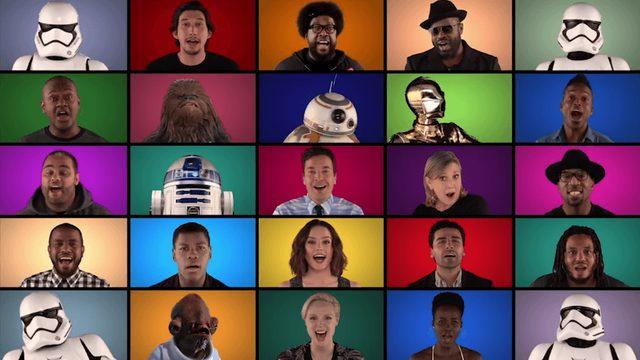 画像: だからスターウォーズは大好き!SWキャストみんなで大合唱するアカペラ動画が楽しい! | スターウォーズ エピソード7 フォースの覚醒 情報局