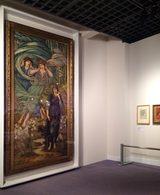 画像: 左:エドワード・コーリー・バーン=ジョーンズ 《スポンサ・デ・リバノ(レバノンの花嫁)》 1891年 水彩、グワッシュ・紙 © Courtesy National Museums Liverpool, Walker Art Gallery
