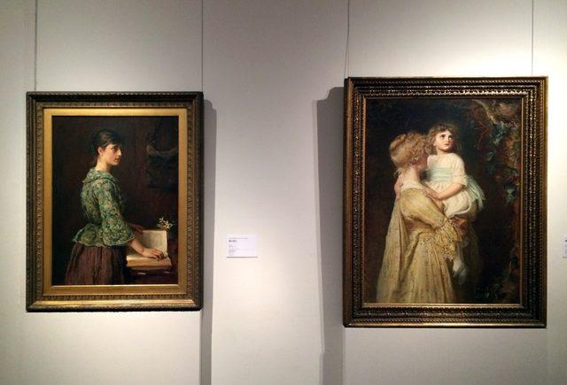 画像: 左:ジョン・エヴァレット・ミレイ 《良い決心》 1877年 油彩・カンヴァス © Courtesy National Museums Liverpool, Walker Art Gallery 右:ジョン・エヴァレット・ミレイ 《巣》 1877年に最初の出品 油彩・カンヴァス © Courtesy National Museums Liverpool, Lady Lever Art Gallery