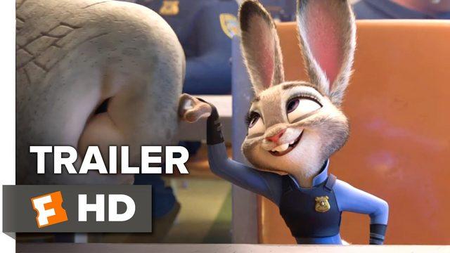 画像: Zootopia Official Trailer #2 (2016) - Disney Animated Movie HD youtu.be