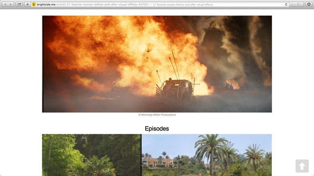 画像2: スクリーンショット 画面 http://brightside.me/article/17-favorite-movies-before-and-after-visual-effects-64705/