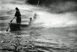 画像: 溝口健二監督の『雨月物語』(1953年)における、この琵琶湖の湖面を行くシーン ©cinefil nishina hideaki