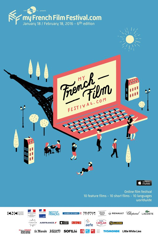 画像: 今年も開催オンライン映画祭 第6回「マイ・フレンチ・フィルム・フェスティバル」!すべての短編映画は無料配信