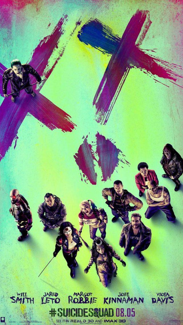 """画像: The gang's all here for the """"Suicide Squad"""" poster. (Photo: Warner Bros,)"""