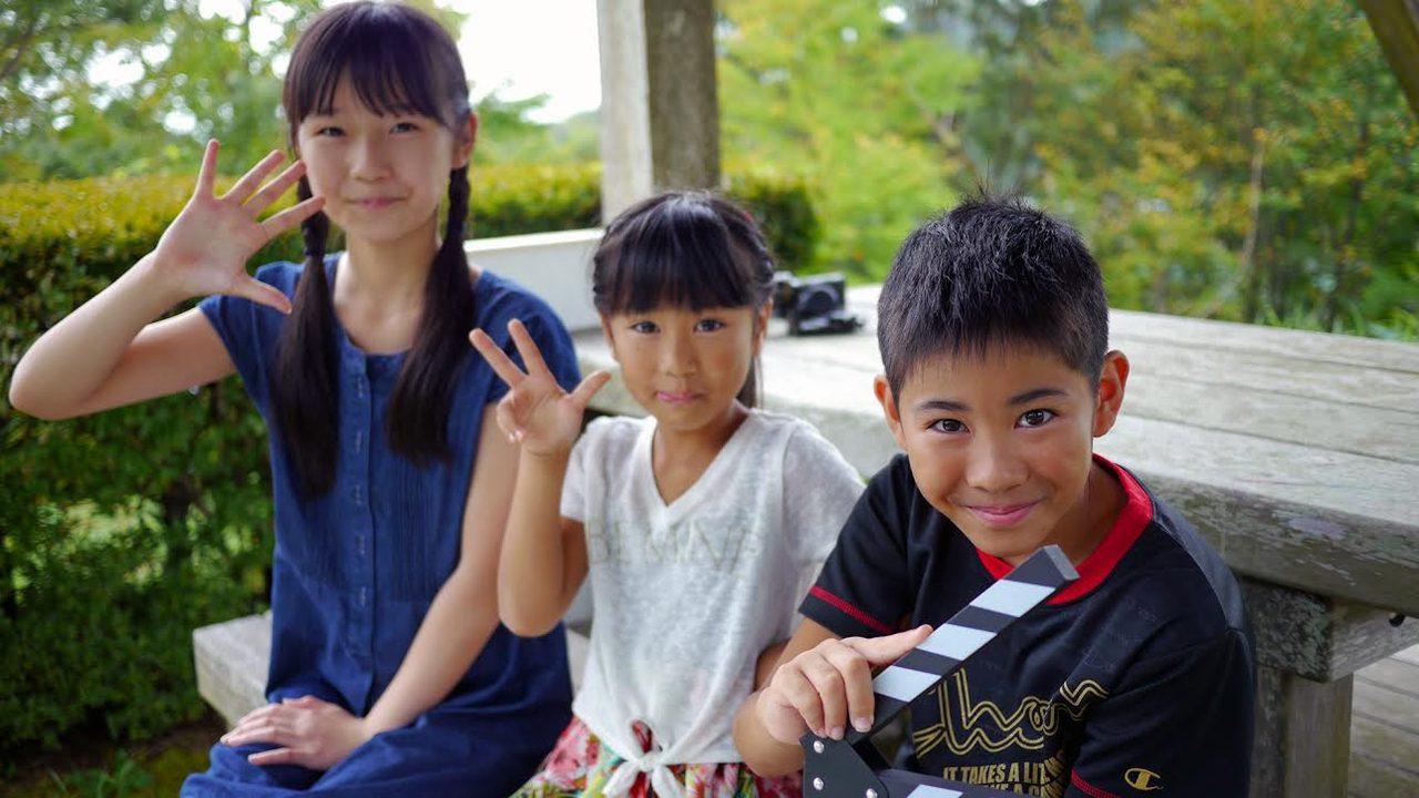 画像: 映画のメイキング写真 右端が江口監督
