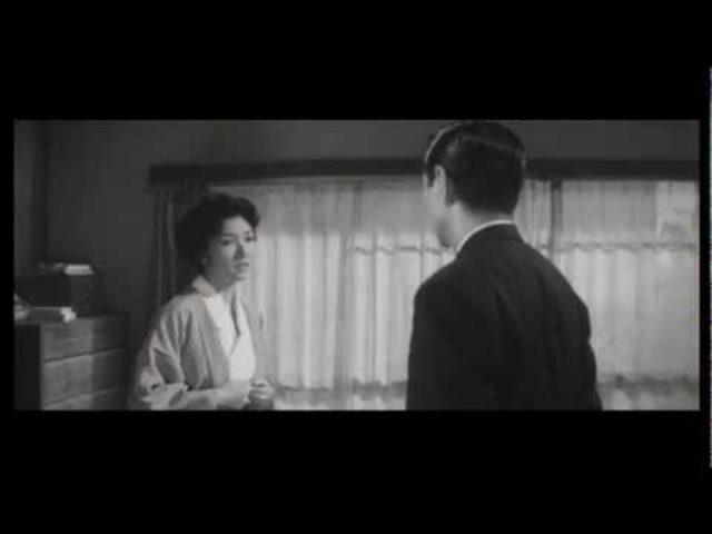 """画像: """"When a Woman Ascends the Stairs"""" trailer (1960) youtu.be"""